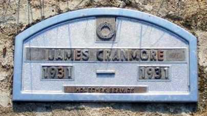 CRANMORE, JAMES - Garden County, Nebraska   JAMES CRANMORE - Nebraska Gravestone Photos