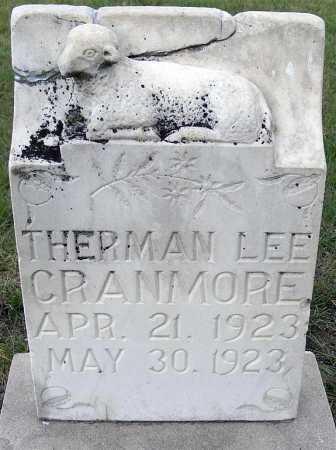 CRANMORE, THERMAN LEE - Garden County, Nebraska   THERMAN LEE CRANMORE - Nebraska Gravestone Photos