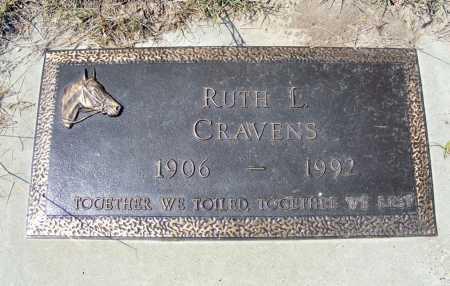 CRAVENS, RUTH L. - Garden County, Nebraska | RUTH L. CRAVENS - Nebraska Gravestone Photos