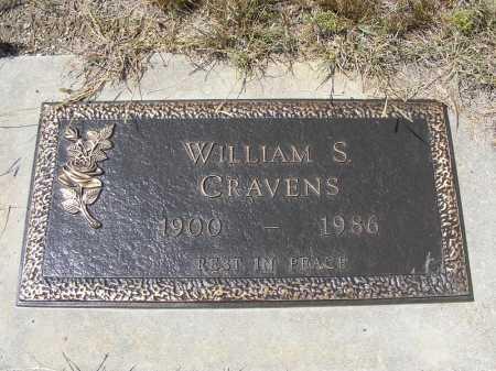 CRAVENS, WILLIAM S. - Garden County, Nebraska   WILLIAM S. CRAVENS - Nebraska Gravestone Photos