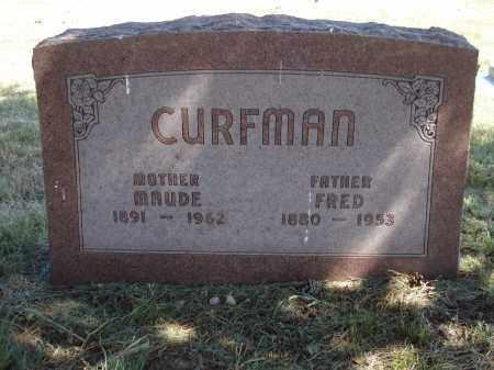 CURFMAN, FRED - Garden County, Nebraska | FRED CURFMAN - Nebraska Gravestone Photos