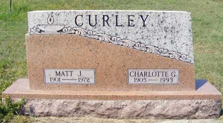 CURLEY, CHARLOTTE G. - Garden County, Nebraska | CHARLOTTE G. CURLEY - Nebraska Gravestone Photos