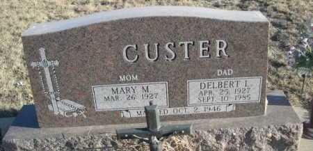 CUSTER, MARY M. - Garden County, Nebraska | MARY M. CUSTER - Nebraska Gravestone Photos