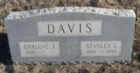 DAVIS, DARLENE F. - Garden County, Nebraska | DARLENE F. DAVIS - Nebraska Gravestone Photos