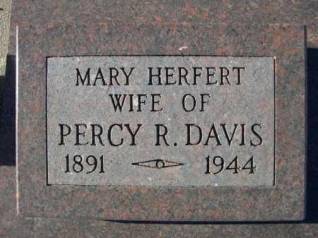 DAVIS, MARY - Garden County, Nebraska   MARY DAVIS - Nebraska Gravestone Photos