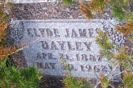 DAYLEY, CLYDE JAMES - Garden County, Nebraska   CLYDE JAMES DAYLEY - Nebraska Gravestone Photos