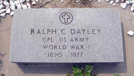 DAYLEY, RALPH C. - Garden County, Nebraska | RALPH C. DAYLEY - Nebraska Gravestone Photos
