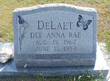 DELAET, DEE ANNA RAE - Garden County, Nebraska   DEE ANNA RAE DELAET - Nebraska Gravestone Photos