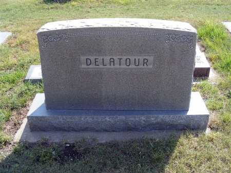 DELATOUR, FAMILY - Garden County, Nebraska   FAMILY DELATOUR - Nebraska Gravestone Photos