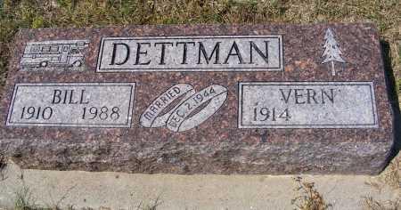 DETTMAN, VERN - Garden County, Nebraska | VERN DETTMAN - Nebraska Gravestone Photos
