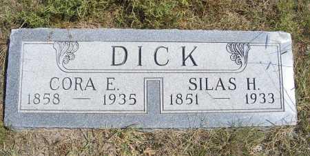 DICK, CORA E. - Garden County, Nebraska | CORA E. DICK - Nebraska Gravestone Photos