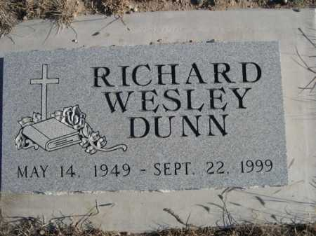 DUNN, RICHARD WESLEY - Garden County, Nebraska | RICHARD WESLEY DUNN - Nebraska Gravestone Photos