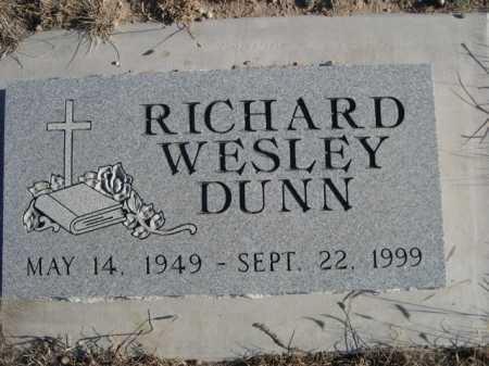 DUNN, RICHARD WESLEY - Garden County, Nebraska   RICHARD WESLEY DUNN - Nebraska Gravestone Photos