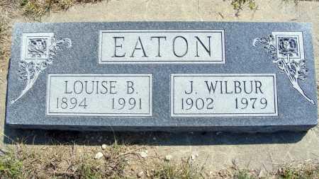EATON, J. WILBUR - Garden County, Nebraska | J. WILBUR EATON - Nebraska Gravestone Photos