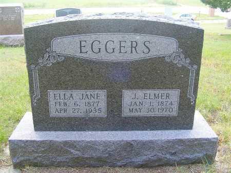 EGGERS, J. ELMER - Garden County, Nebraska   J. ELMER EGGERS - Nebraska Gravestone Photos