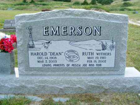 WITHERS EMERSON, RUTH - Garden County, Nebraska | RUTH WITHERS EMERSON - Nebraska Gravestone Photos