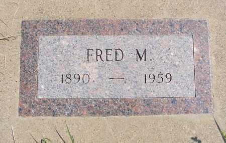 FAIRCHILD, FRED M. - Garden County, Nebraska | FRED M. FAIRCHILD - Nebraska Gravestone Photos