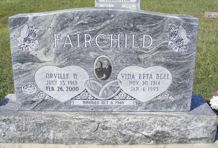 BEEL FAIRCHILDL, VIDA ETTA - Garden County, Nebraska | VIDA ETTA BEEL FAIRCHILDL - Nebraska Gravestone Photos