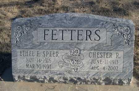 FETTERS, ETHEL E. - Garden County, Nebraska | ETHEL E. FETTERS - Nebraska Gravestone Photos