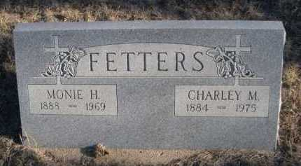 FETTERS, MONIE H. - Garden County, Nebraska | MONIE H. FETTERS - Nebraska Gravestone Photos