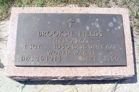 FIELDS, BROOKSIE - Garden County, Nebraska | BROOKSIE FIELDS - Nebraska Gravestone Photos