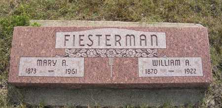 FIESTERMAN, MARY A. - Garden County, Nebraska   MARY A. FIESTERMAN - Nebraska Gravestone Photos