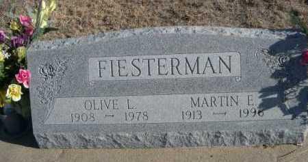 FIESTERMAN, MARTIN E. - Garden County, Nebraska | MARTIN E. FIESTERMAN - Nebraska Gravestone Photos