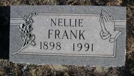 FRANK, NELLIE - Garden County, Nebraska   NELLIE FRANK - Nebraska Gravestone Photos
