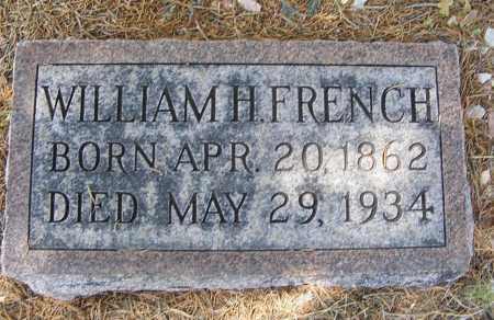 FRENCH, WILLIAM H. - Garden County, Nebraska | WILLIAM H. FRENCH - Nebraska Gravestone Photos