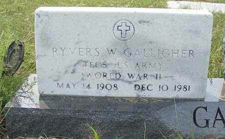 GALLIGHER, RYVERS W. - Garden County, Nebraska | RYVERS W. GALLIGHER - Nebraska Gravestone Photos