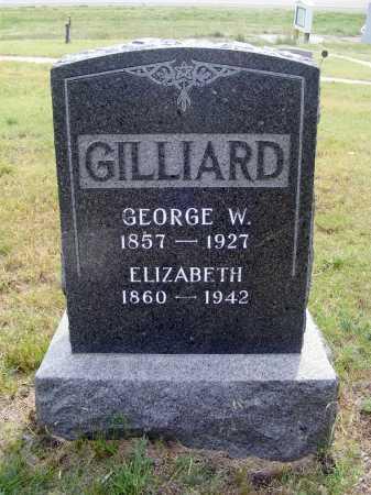 GILLIARD, GEORGE W. - Garden County, Nebraska | GEORGE W. GILLIARD - Nebraska Gravestone Photos