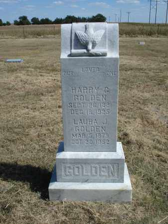 GOLDEN, LAURA J. - Garden County, Nebraska | LAURA J. GOLDEN - Nebraska Gravestone Photos