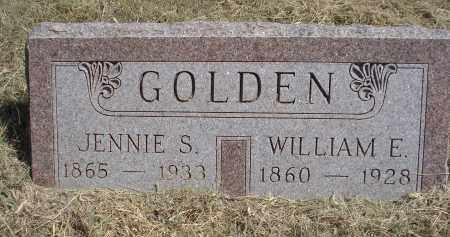 GOLDEN, WILLIAM E. - Garden County, Nebraska   WILLIAM E. GOLDEN - Nebraska Gravestone Photos
