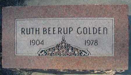 GOLDEN, RUTH BEE RUP - Garden County, Nebraska | RUTH BEE RUP GOLDEN - Nebraska Gravestone Photos