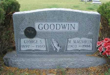 GOODWIN, GEORGE S. - Garden County, Nebraska | GEORGE S. GOODWIN - Nebraska Gravestone Photos
