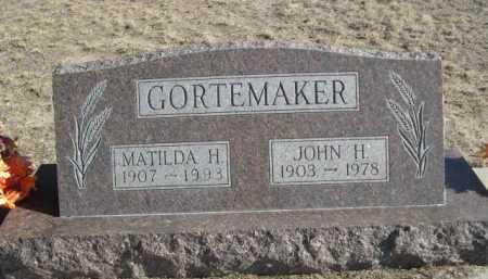 GORTEMAKER, JOHN H. - Garden County, Nebraska | JOHN H. GORTEMAKER - Nebraska Gravestone Photos