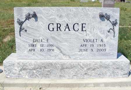 GRACE, DALE E. - Garden County, Nebraska | DALE E. GRACE - Nebraska Gravestone Photos