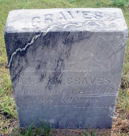 GRAVES, CHARLES W. - Garden County, Nebraska | CHARLES W. GRAVES - Nebraska Gravestone Photos