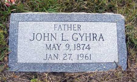 GYHRA, JOHN L. - Garden County, Nebraska   JOHN L. GYHRA - Nebraska Gravestone Photos