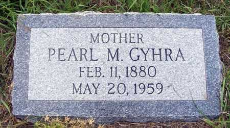 GYHRA, PEARL M. - Garden County, Nebraska | PEARL M. GYHRA - Nebraska Gravestone Photos