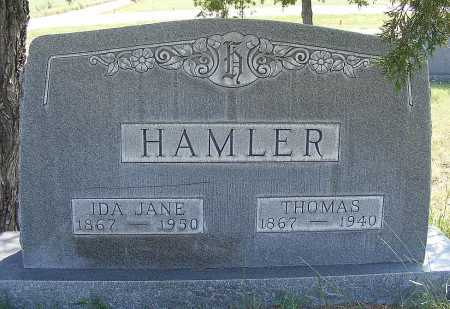 HAMLER, THOMAS - Garden County, Nebraska | THOMAS HAMLER - Nebraska Gravestone Photos