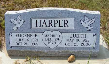 HARPER, EUGENE F. - Garden County, Nebraska   EUGENE F. HARPER - Nebraska Gravestone Photos