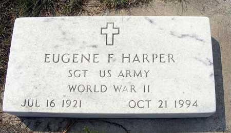 HARPER, EUGENE F. - Garden County, Nebraska | EUGENE F. HARPER - Nebraska Gravestone Photos