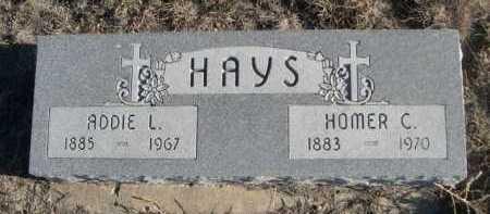 HAYS, HOMER C. - Garden County, Nebraska   HOMER C. HAYS - Nebraska Gravestone Photos