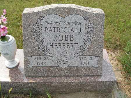 HEBBERT, PATRICIA J. - Garden County, Nebraska | PATRICIA J. HEBBERT - Nebraska Gravestone Photos