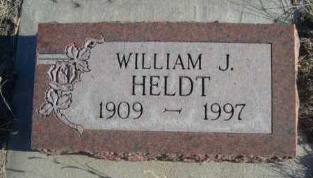 HELDT, WILLIAM J. - Garden County, Nebraska | WILLIAM J. HELDT - Nebraska Gravestone Photos