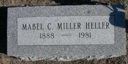 HELLER, MABEL C. - Garden County, Nebraska | MABEL C. HELLER - Nebraska Gravestone Photos