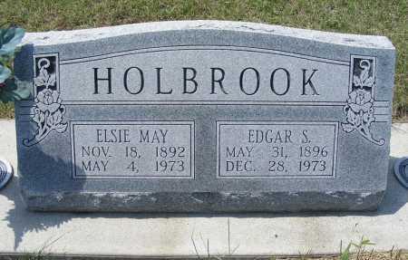 HOLBROOK, EDGAR S. - Garden County, Nebraska | EDGAR S. HOLBROOK - Nebraska Gravestone Photos