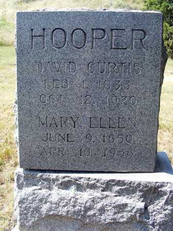 HOOPER, DAVID CURTIS - Garden County, Nebraska | DAVID CURTIS HOOPER - Nebraska Gravestone Photos