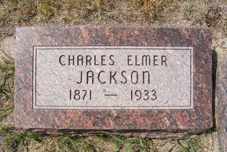JACKSON, CHARLES ELMER - Garden County, Nebraska | CHARLES ELMER JACKSON - Nebraska Gravestone Photos
